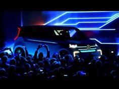 All new Volkswagen BUDD-e shown @ CES 2016 by Chairman Herbert Diess - YouTube
