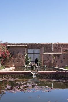beldi country club marrakech pond