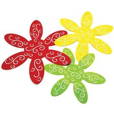 Felt Pan Protectors Set of 3 Buy Kids Clothes Online, Red Felt, Jesus Loves Me, Interior And Exterior, 3 Piece, Party Supplies, Sewing Projects, Yellow, Green