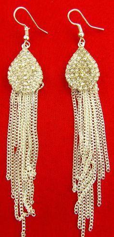 luxury earrings Tassel Drop earrings