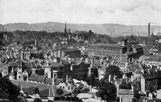 """Nottinghamshire history > Nottingham, """"The Queen City of the Midlands,"""" The official guide, Sixth Edition Nottingham City Centre, Stoke On Trent, Local History, Old Photos, Uni, 1920s, Paris Skyline, Past, Dolores Park"""