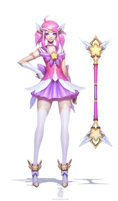 Star Guardian Lux Concept Art by ZeroNis on DeviantArt