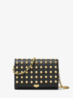 I covet this Yasmeen Studded French Calf Leather Clutch from Michael Kors!