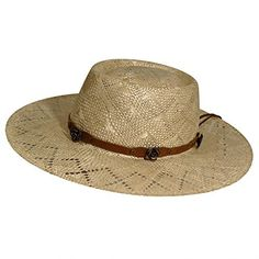08b4f3fe796 Charlie 1 Horse Women s Great Divide Soft Raffia Straw Hat with Leather  Band