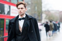 GQ. The Best Dressed Men of London Fashion Week. The latest street style from London. January 2015.