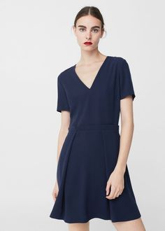 Flowy dress - Women | MANGO USA