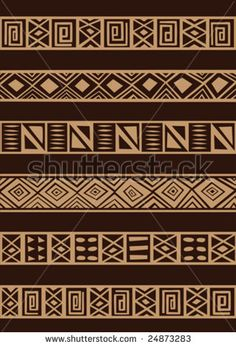 Illustration about Vector set including ethnic African stripe with geometrically typical elements. Illustration of rhombus, geometric, ethnic - 8047629 Arte Tribal, Tribal Art, African Textiles, African Fabric, Ankara Fabric, Ethnic Patterns, Textures Patterns, African Patterns, Geometric Patterns