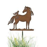 Little Rider Garden Stake