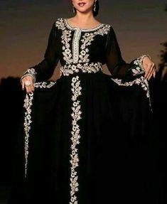 Caftan Maghribi Kaftan Abaya, Caftan Dress, Arab Fashion, Muslim Fashion, Caftan Gallery, Oriental Dress, Moroccan Caftan, Gowns Of Elegance, Embroidery Dress