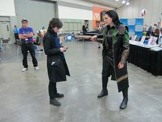 """""""You have heart""""  """"I have been reliably informed I don't, actually""""  ((Cosplay crossovers are the best crossovers))"""