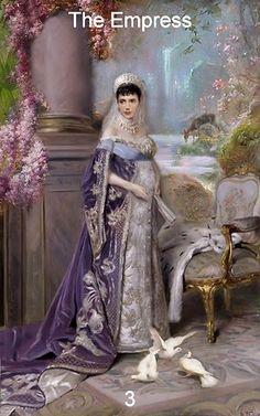 The Empress ~ Gloria Jean Infinite Visions Tarot