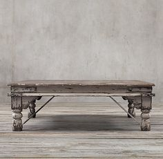 19th C. Kerala Coffee Table