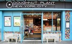 Hungry ? the best bakeries & patisseries around the world DOUGHNUT PLANT , NEW YORK recommended eating PEANUT BUTTER & JELLY DOUGHNUTS New City, New York City, Good Bakery, Global Village, Online Shopping Mall, New Recipes, Places To Go, Around The Worlds, Nyc