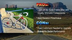road bikes with discount The video shows 5 best road bikes for sale with huge discount. For full carbon frame road bike you pay 60% less than in any other on line shop. Best quality, authority brands and lowest prices
