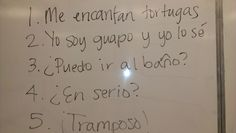 Tales from a Spanish Teacher: The 5 Phrase Skit