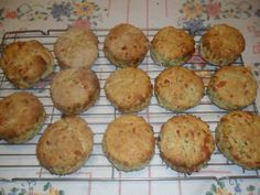Easy cheesy courgette scones