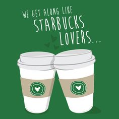 Greeting Card: We Get Along Like Starbucks Lovers (Misheard Taylor Swift Lyrics from Blank Space) Starbucks Quotes, Starbucks T Shirt, Starbucks Drinks, Starbucks Coffee, Hot Coffee, Coffee Girl, Coffee Lovers, Happy Love, My Love
