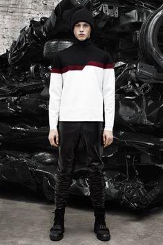 Sfilata Alexander Wang Milano Moda Uomo Autunno Inverno 2014-15 - Vogue