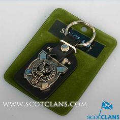 Sinclair Clan Crest Keyfob