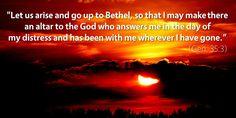 M'Cheyne Bible Reading Plan Meditation for Genesis 35–36: The covenant mercies of God toward undeserving Jacob—and toward undeserving you and me.