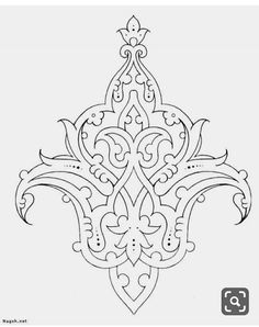phoca_thumb_l_aslimy-nagsh – Best Stylish Motifs Islamiques, Islamic Motifs, Islamic Art Pattern, Persian Motifs, Stencil Patterns, Doodle Patterns, Pattern Art, Hand Embroidery Designs, Embroidery Patterns