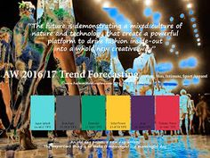 Seasonal inspiration & key color direction for Women/Men's Fashion, Sport & Intimate Apparel.