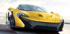McLaren-P1 a toda velocidad presentado en el Salón de Ginebra 2013. De una estética radical y una potencia fenomenal de 916 CV y 900 Nm, gracias a su sistema híbrido.