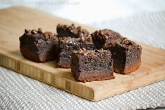 Protein Chocolate Brownies with Quest Crust | Vitacost.com Blog