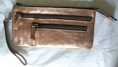 Anthropologie $78 ETERNO WRISTLET in Copper by HOLDING HORSES ~ NEW - Handbag Accessories