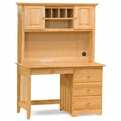 Atlantic Furniture Windsor Desk, Natural Maple with Hutch by Atlantic Furniture. $899.00. Perfect addition to any Atlantic Furniture bedroom set. Five piece English Dove-tail drawer box with smooth metal euro-glide drawer runners. Solid hardwood construction. High build five step finishing process for lasting durability. Desk ships fully assembled. The Atlantic Furniture Home Office Collection offers you an unlimited number of possibilities. Mix and match pieces to...