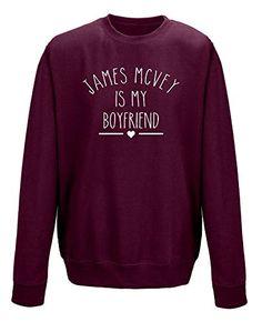 James McVey Is My Boyfriend Unisex Sweatshirt Jumper