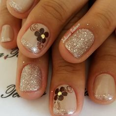 Shellac Nail Art, Nail Manicure, Gel Nails, Acrylic Nails, Golden Nails, Thanksgiving Nails, Bright Nails, Toe Nail Designs, Healthy Nails