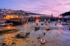 Historic Harbour, Porthleven, Cornwall, England by Fragga, via Flickr