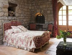 Bedarieux Apartment Rentals in France | 2 Bedroom Apartment Within Rare Historic Chateau (L'appartement des Seigneurs) #france #chateau #rustic #castle #holiday #bedroom