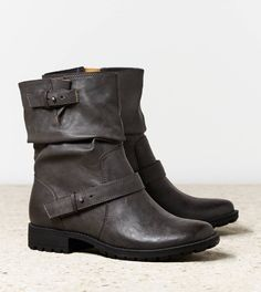 AEO Slouchy Moto Boot