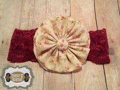 Newborn Vintage-Inspired Handmade Cream by CountryQTBowtique