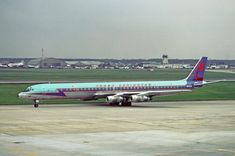 Trans Caribbean Airways DC-8