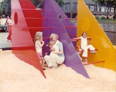 For our first post of the new year we thought it would be a fun time to share a selection timeless playscapes that function both as art and entertainment.