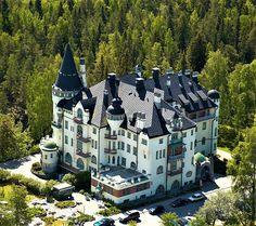 Scandic Imatran Valtionhotelli Torkkelinkatu 2, 55100 Imatra, Finland Finland, Discovery, Travelling, Mansions, House Styles, Mansion Houses, Manor Houses, Fancy Houses, Palaces