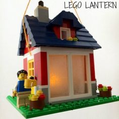 Use LEGO to make an awesome camping lantern for kids! Check out the awesome LEGO building ideas for inspiration!