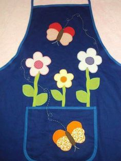 Önlük Sewing Crafts, Sewing Projects, Projects To Try, Hobbies And Crafts, Diy And Crafts, Jean Apron, Crochet Shoulder Bags, Cute Aprons, Sewing Aprons