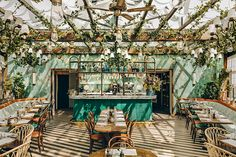 Italiaanse restaurants met knappe interieurs - Residence