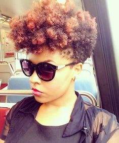 4 Fierce Ways To Spruce Up Your Tiny-Winy Afro! Dreads, Curly Hair Styles, Natural Hair Styles, Natural Beauty, Au Natural, Natural Life, Tapered Natural Hair, Tapered Twa, New Flame