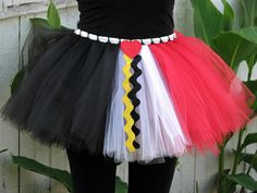 Off With Their Heads Queen of Hearts inspired Running Tutu by Sunshine Memories