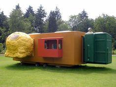 Joep van Lieshout, Mobile Home for Kröller-Müller, 1995,