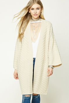 Please click on the picture to go to the detail page. FOREVER 21+ Textured Knit Cardigan
