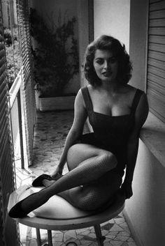 Sophia Loren, Rome, Italy, 1955 Seymour, David (1911-1956)