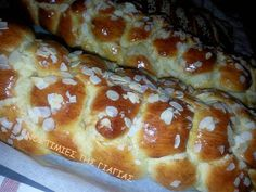 Νοστιμιές της Γιαγιάς: ΤΟ ΠΙΟ ΝΟΣΤΙΜΟ ΤΣΟΥΡΕΚΙ ... ΤΗΣ ΓΙΑΓΙΑΣ Sweet Buns, Sweet Pie, French Toast, Easter, Bread, Cookies, Breakfast, Desserts, Pancake