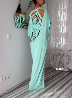 Hey, I found this really awesome Etsy listing at https://www.etsy.com/listing/181629720/open-back-mint-plus-size-oversized