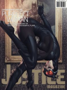 Justice Mag - Catwoman by Stanley Lau, `Artgerm on deviantART